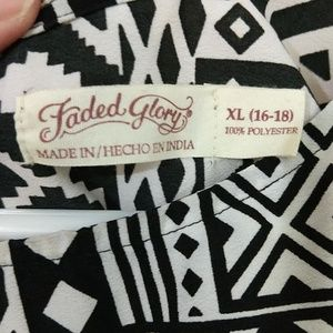 Faded Glory Tops - Faded Glory Blouse